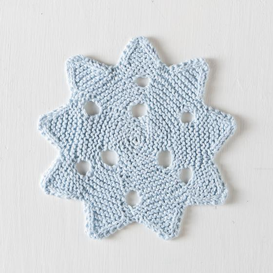 Snowflake Dishcloth Knitting Patterns And Crochet Patterns From