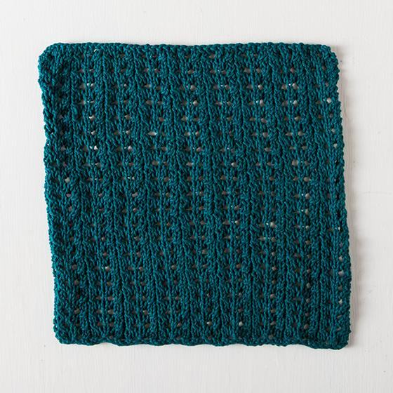Easy Lace Dishcloth Knitting Patterns And Crochet Patterns From