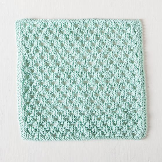 Honeycomb Dishcloth Knitting Patterns And Crochet Patterns From