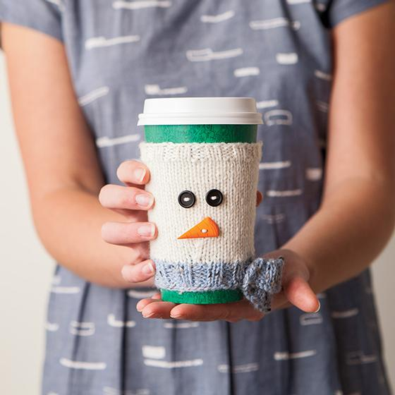 Chill Chaser Cup Cozy - Knitting Patterns and Crochet Patterns from ...