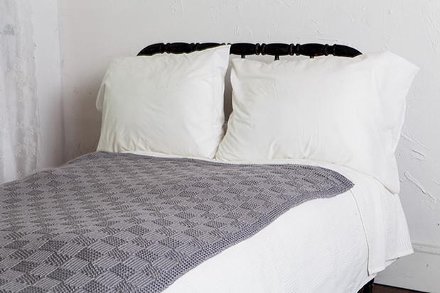 Checkerboard Throw Knitting Patterns And Crochet Patterns From