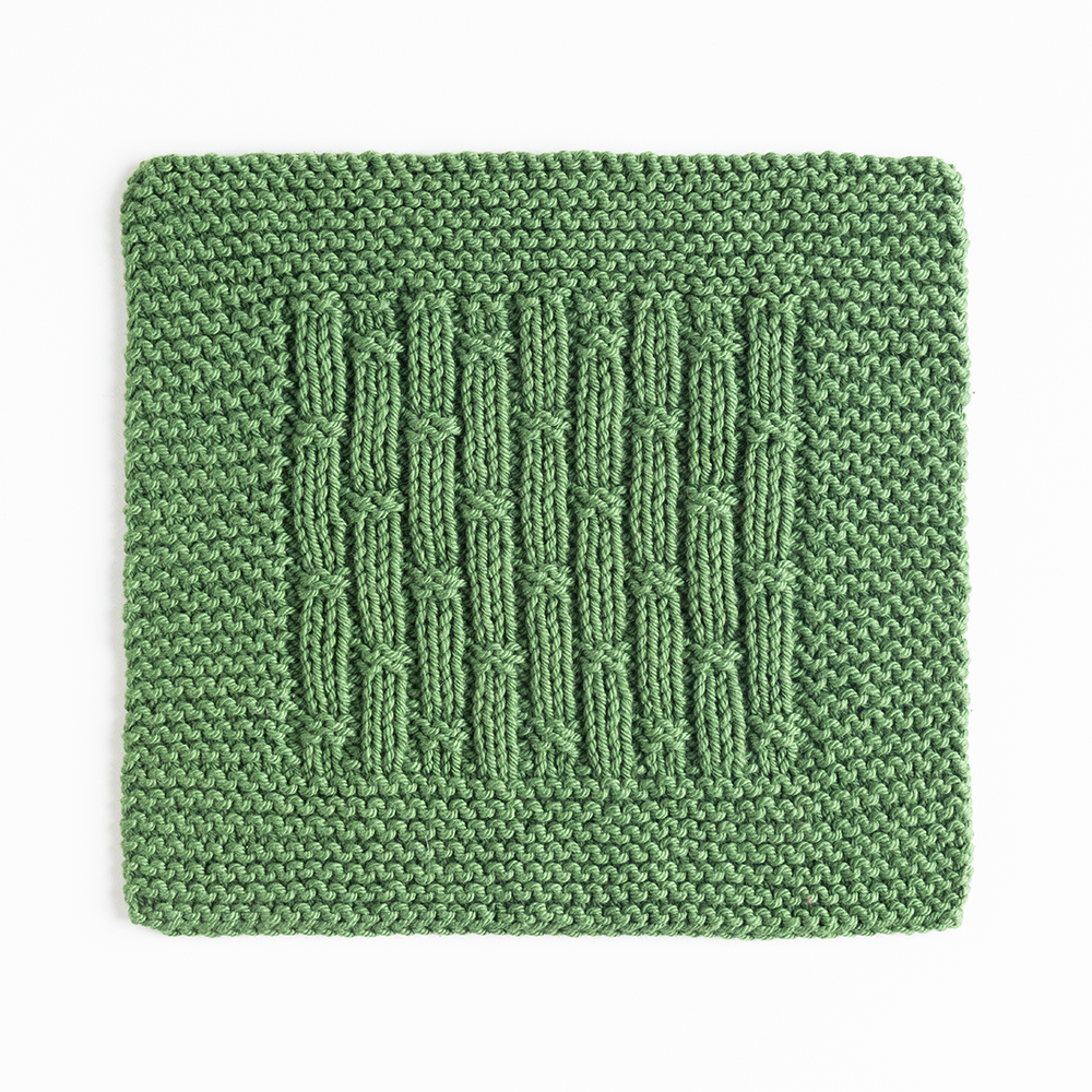 Bamboo Rib Dishcloth Knitting Patterns And Crochet Patterns From