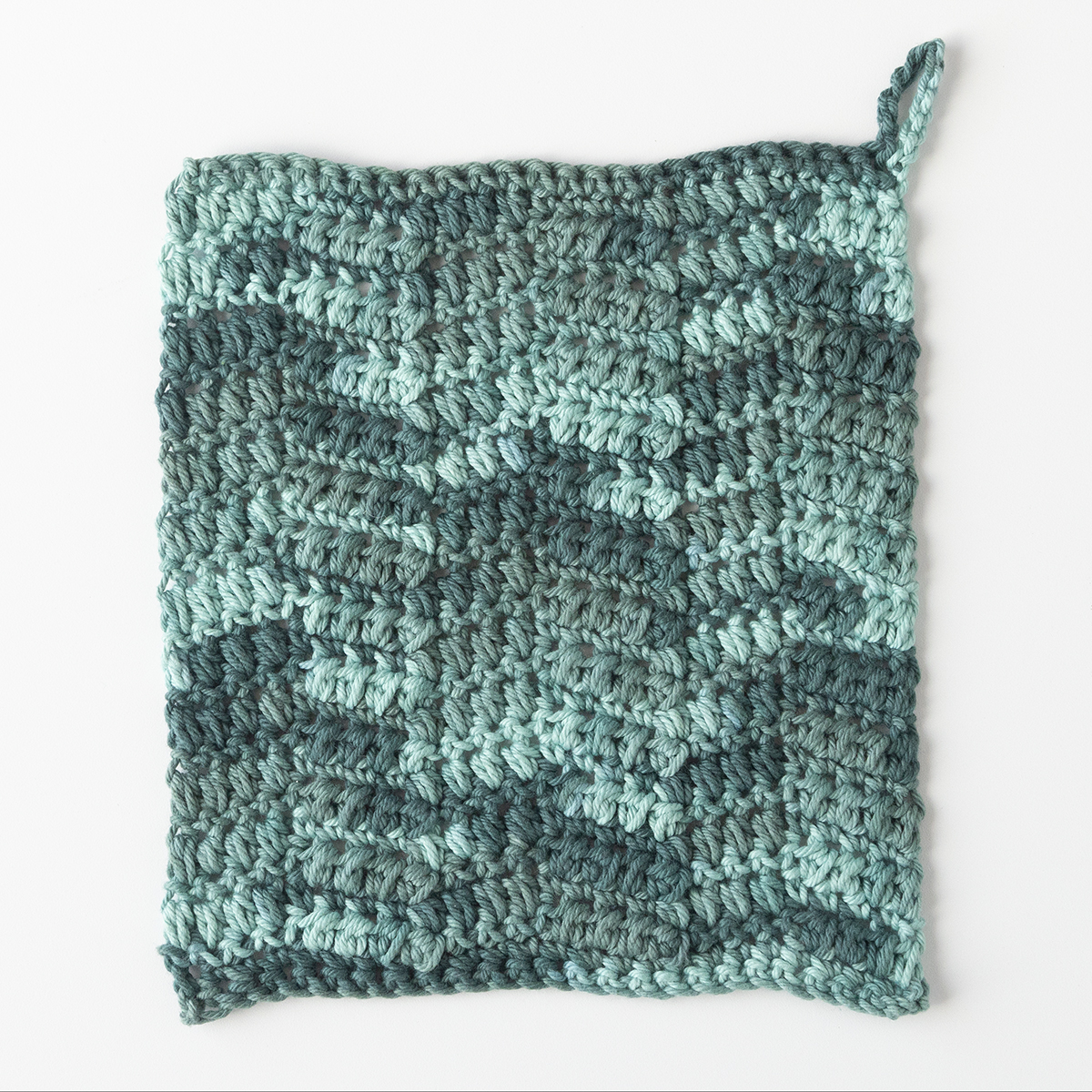 Crochet Chevron Dishcloth Knitting Patterns And Crochet Patterns