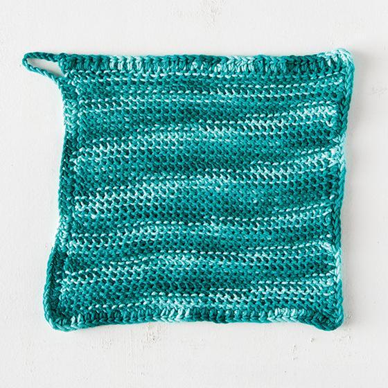 Tunisian Purl Stitch Dishcloth Knitting Patterns And Crochet