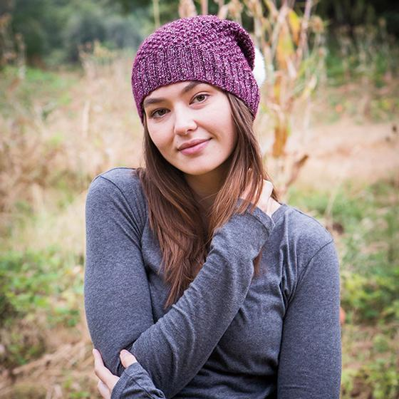 5904ef58e23 Alux Slouch Hat - Knitting Patterns and Crochet Patterns from ...