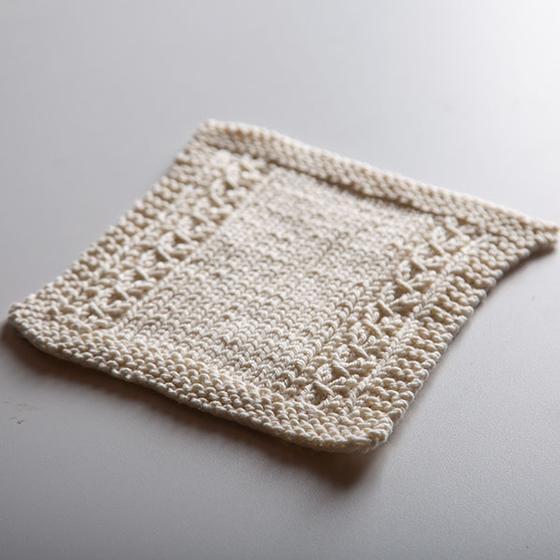 Garden Window Dishcloth - free dishcloth patterns from knitpicks.com