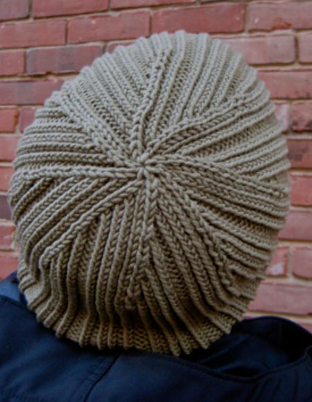 Knit Skull Cap Pattern : Paradiddle Skull Cap Pattern - Knitting Patterns and Crochet Patterns from Kn...