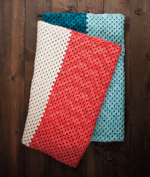 Beginner Blanket Pattern Kit Crochet