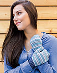 Frosted Mittens Pattern Kit