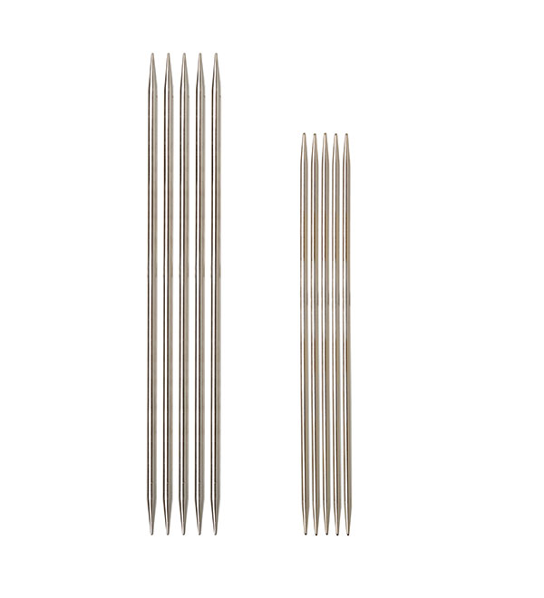 Nickel Plated Double Pointed Needles