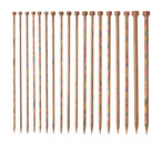 Rainbow Straight Knitting Needle Sets