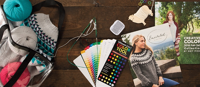 Learn to Knit Colorwork