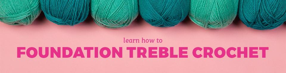 Foundation Stitches Half Double Crochet