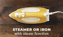 Steamer or iron