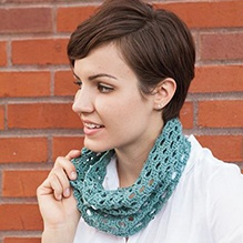 Swiss Tweed Crochet Cowl