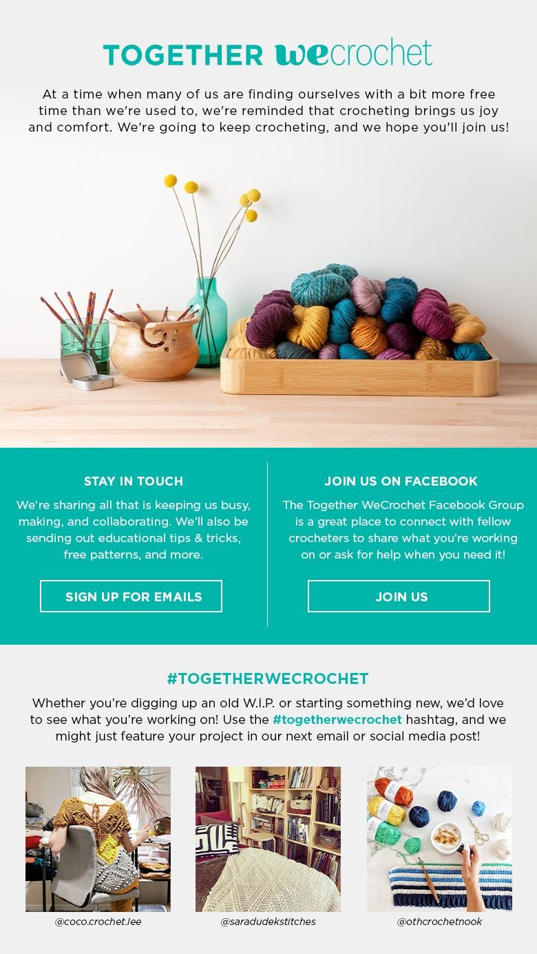 Together we crochet
