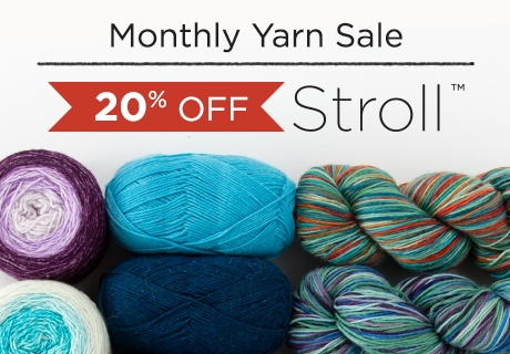 Monthly Yarn Sale