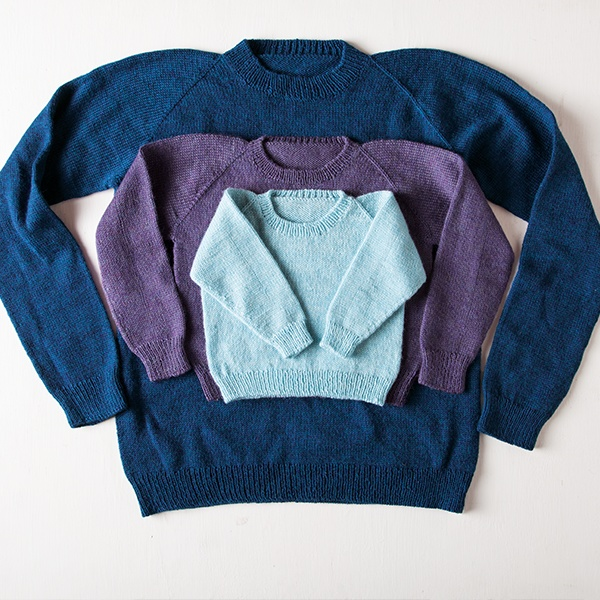 Knits for Everybody Worsted Weight Sweater Class