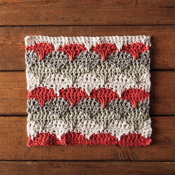 Crochet the Marguerite Dishcloth
