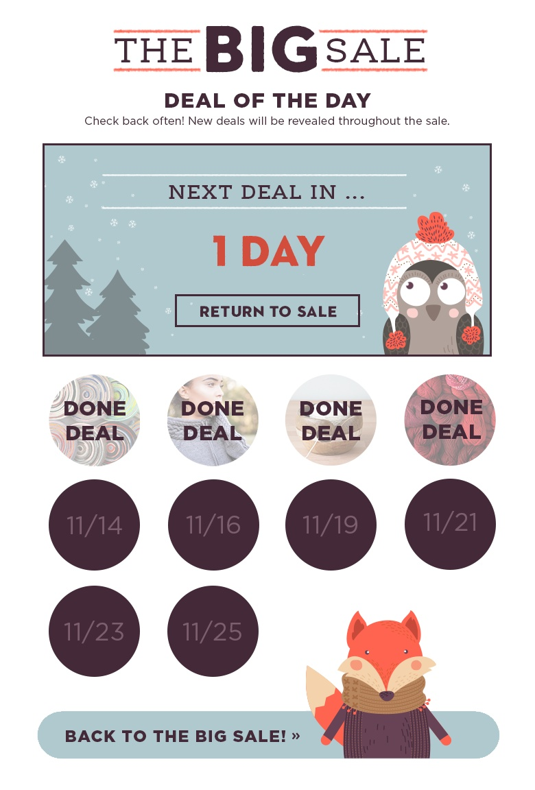 Deal of the Day Countdown