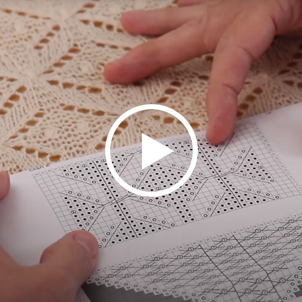 Learn to Read a Lace Chart