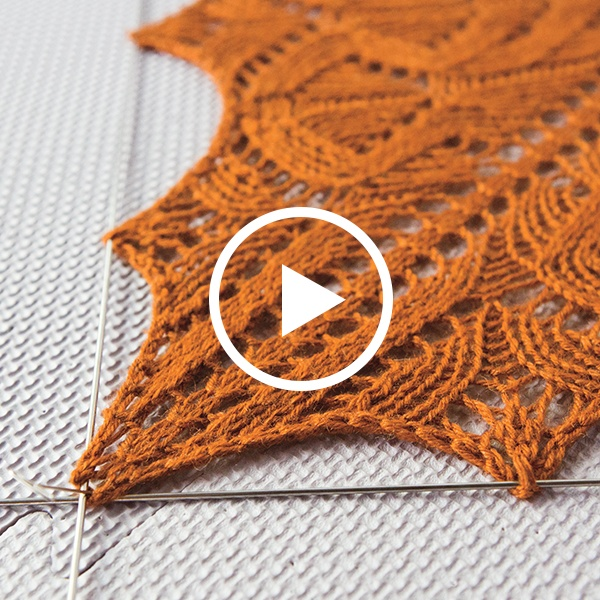 How to Block Lace