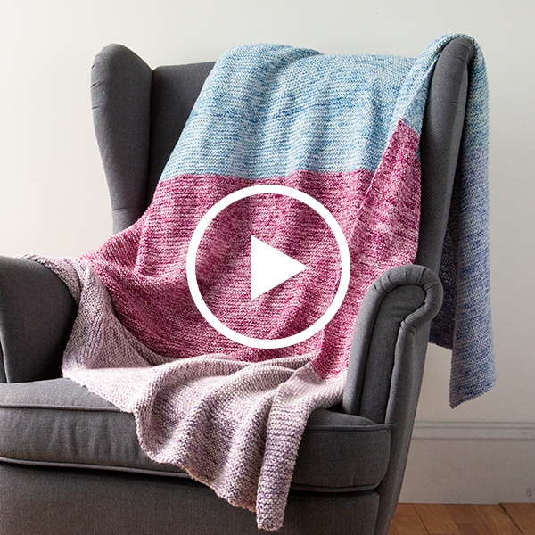 Beginner Knit Blanket