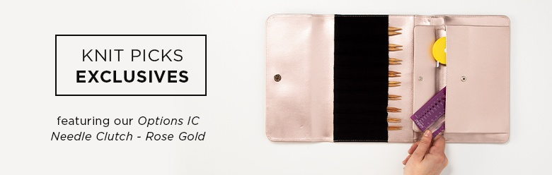 Rose Gold Needle Clutch