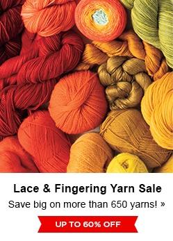 Lace & Fingering Yarn Sale