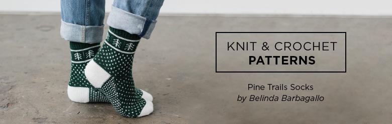 Pine Trails Socks