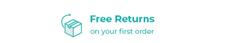 Free Returns on Your First Order