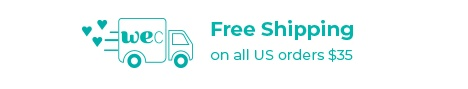 Free Shipping on all US orders over $35+