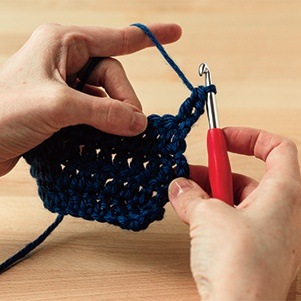 Double Crochet (DC)