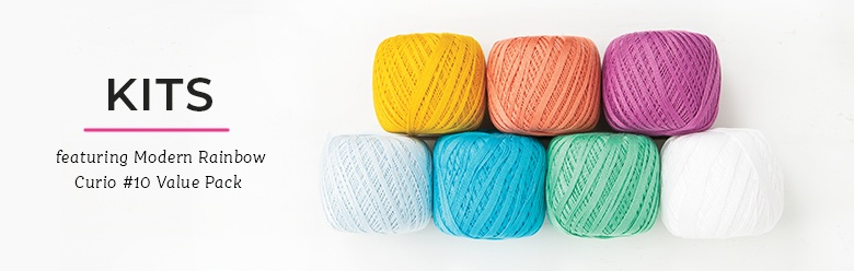 Yarn Value Packs - Modern Rainbow Curio #10 Value Pack