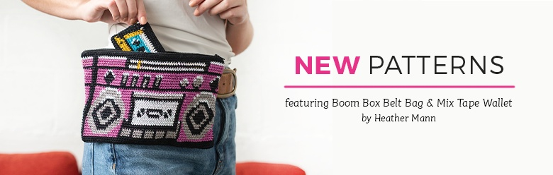New Patterns - Boom Box Belt Bag and Mix Tape Wallet