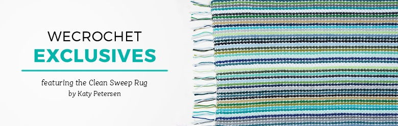 WeCrochet Exclusives - Clean Sweep Rug