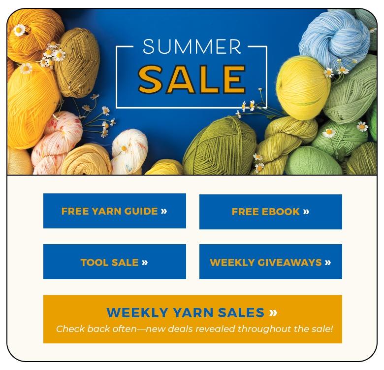 Summer Yarn Sale | Crochet.com