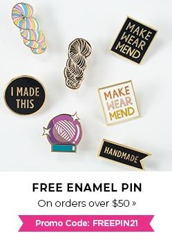 Free Enamel Pin