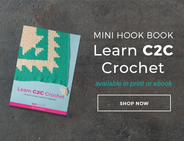Mini Hook Book Learn C2C Crochet