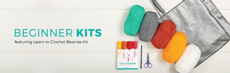 Crochet Beanies Kit