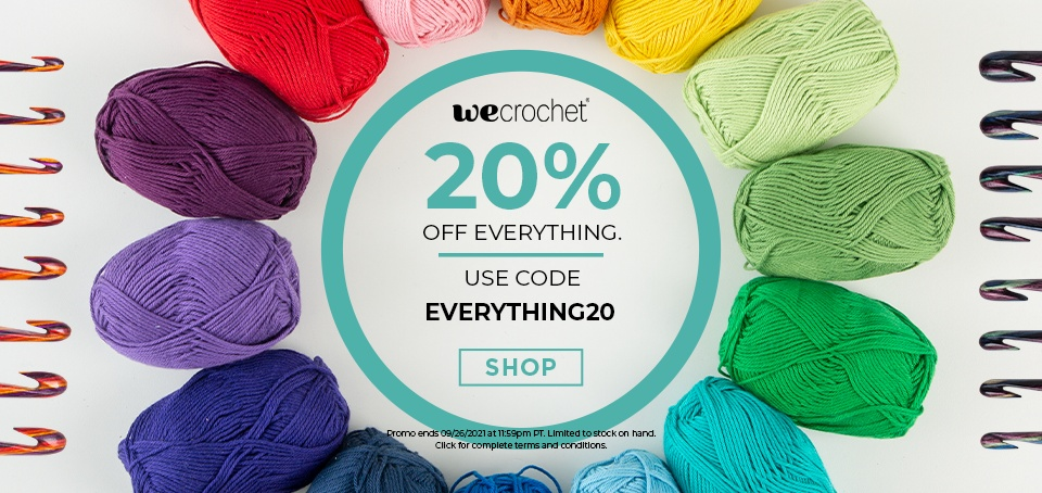 20 Percent Off Sitewide