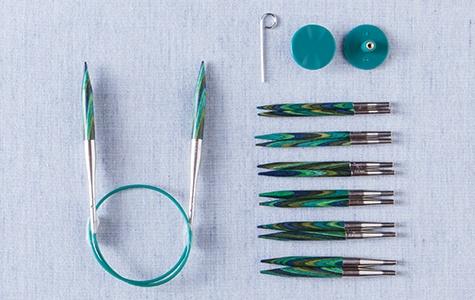 Short Interchangeable Needles