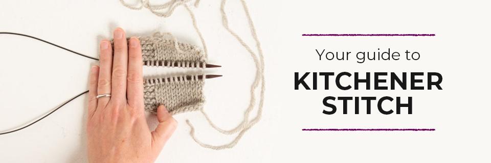 Grafting With Kitchener Stitch