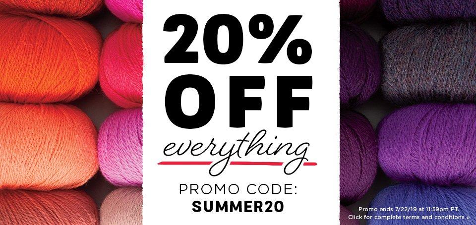 Summer20 Promo