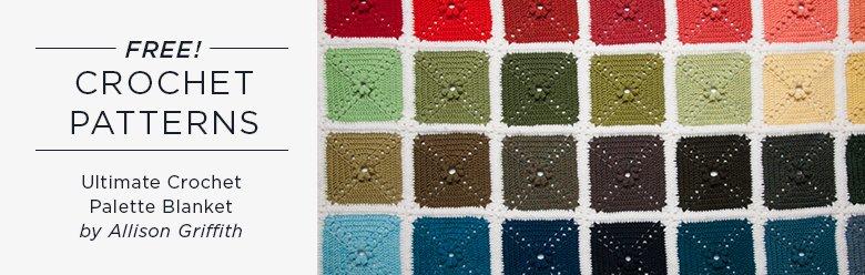 Ultimate Crochet Palette Blanket