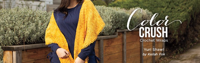 Color Crush Crochet Shawls Collection