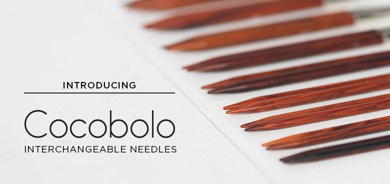 Cocobolo Needles
