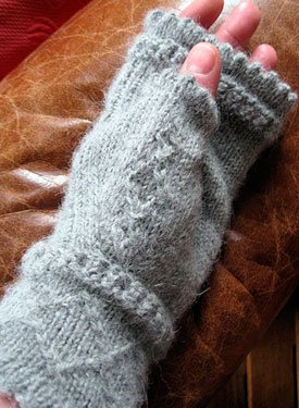 Fingerless Mittens - Martha Stewart Crafts