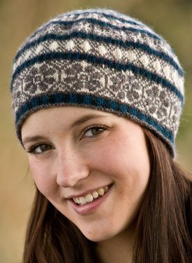 How to Knit the Snowflake Lace Stitch - NewStitchaDay.com