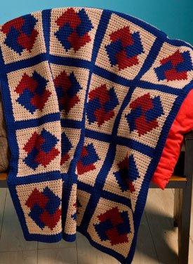 Magic Crochet Potholder with the Single Crochet - YouTube